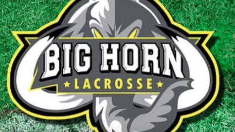 Pictured is the Big Horn Lacrosse Club logo.