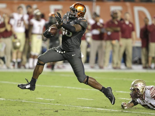 Clive Walford started 37 straight games at Miami.