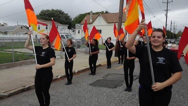 Members of Vineland High School's Marching Clan participated in the New Jersey State Firemen's Parade in Wildwood.