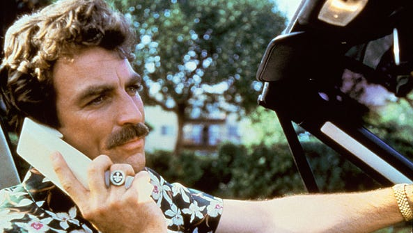Tom Selleck, who now stars in CBS' 'Blue Bloods,' played