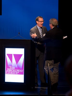 Mike Brand, executive director of Wharton Center for Performing Arts, is the newest recipient of the Samuel J. L'Hommedieu Award