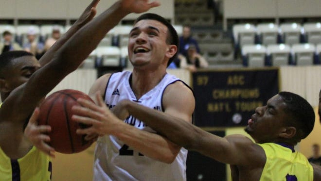 Former Lake View High School standout Timothy Aguero earned Freshman of the Year honors as he helped lead Howard Payne to the American Southwest Conference Tournament.