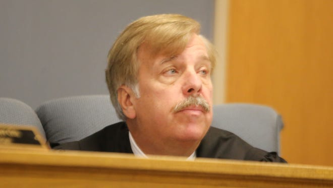 Judge Carl Gerds in court.