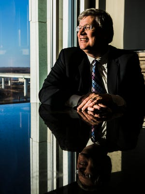 """December 15, 2017 - Nearing the halfway point in his first term, Memphis Mayor Jim Strickland takes stock of what happened in 2017. """"Time just goes by so fast. It's hard to believe we've been here for almost two years,"""" Strickland said. """"I absolutely love this job. Every day is a joy."""""""
