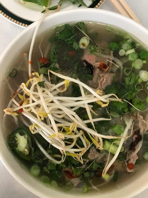 An order of pho tai from Pho 99 in Fort Myers.