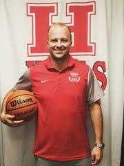Halls High head basketball coach Clint Sharp