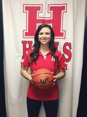 Halls High Lady Devils basketball coach Savannah Harrison