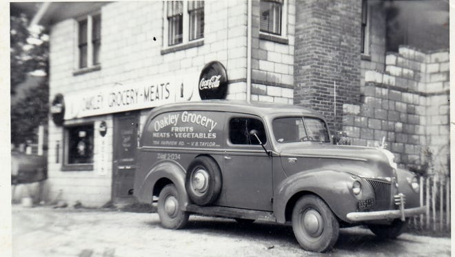Oakley Grocery, circa 1949. It was renamed Oakley Food Center but a new owner.