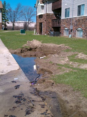 A Far-Eastside Indianapolis apartment complex has been cited for