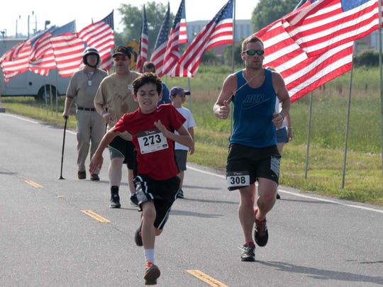 The Chennault Aviation and Military Museum's Run for the Red, White and Blue 5K is Saturday.