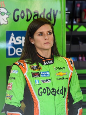 Danica Patrick finished a then career-best seventh at Kansas Speedway last spring.