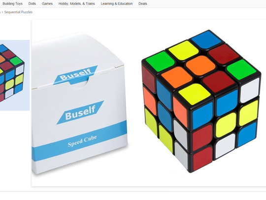 This Rubik's Cube copycat doesn't claim to be the authentic