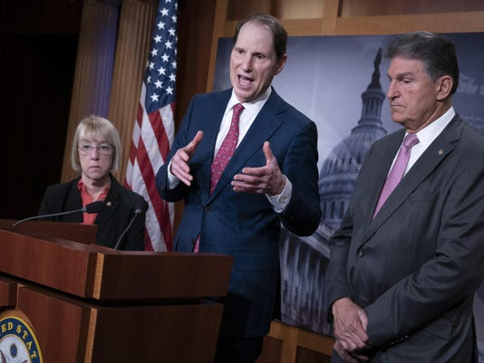 Joe Manchin, Patty Murray, Ron Wyden