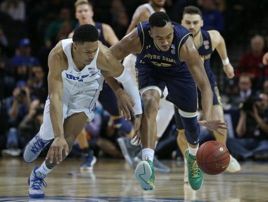 NCAA Basketball: ACC Conference Tournament-Duke vs Notre Dame