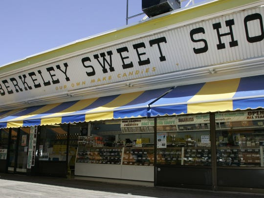 A 2007 file photo shows the exterior of Berekeley Sweet
