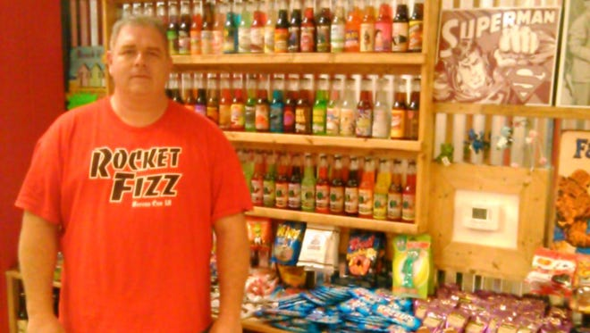 Rocket Fizz at the Louisiana Boardwalk offers more than 500 different types of soda, in different brands, flavors, as well as a huge selection of candy.