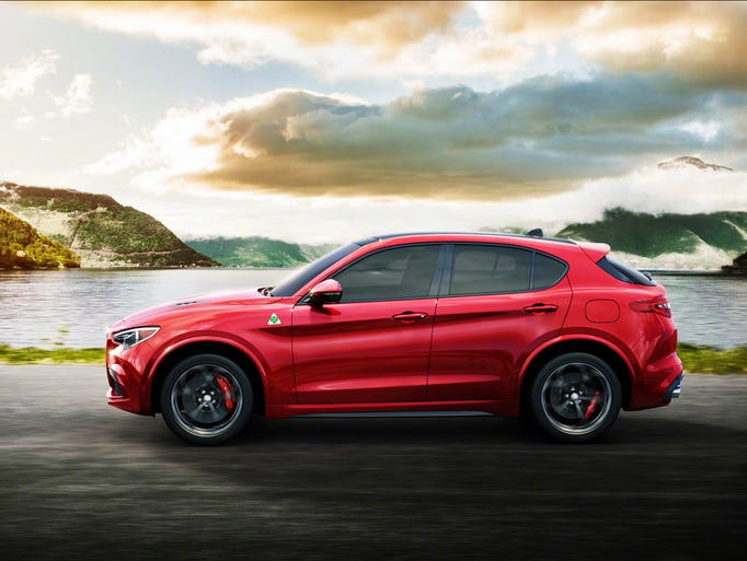 Alfa Romeo will unveil the 2018 Stelvio at the Los