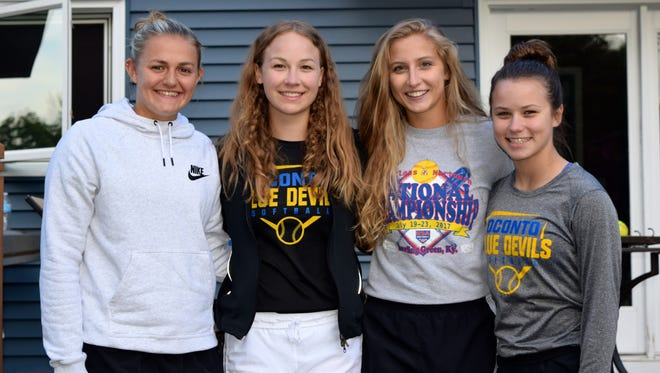 All-District Award winners from Oconto High School for 2018 were Mackenzie Honish, Hannah Wusterbarth, Ellen Sohrweide -- all first team -- and Hallie Wusterbarth, honorable mention. Team Awards for 2018 also went to Honish as Most Valuable Pitcher, Hannah Wusterbarth as Most improved Player and Sohrweide as Most Valuable Player.