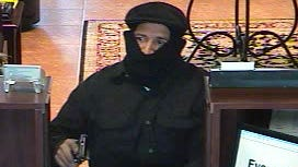 Cape Coral police are searching for a suspect in a bank robbery off Del Prado Blvd.