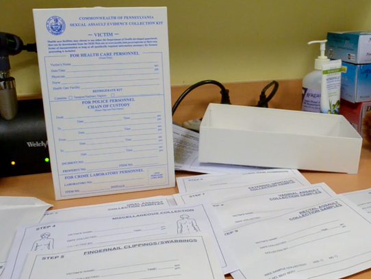 A sexual assault forensic kit has many steps and can