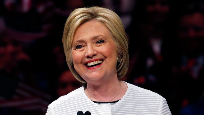 Democratic presidential candidate Hillary Clinton in New York on June 7, 2016.