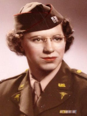Rhoda Ann Ziesler Weller served in the Army Nurse Corps in Hawaii for four years.