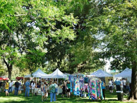 North Valley Art League's Art in the Park event.