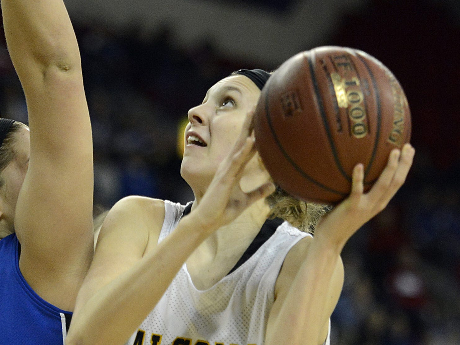 Algoma's Anna Dier is averaging 25.7 points through three games after returning from a torn anterior cruciate ligament sustained last season.