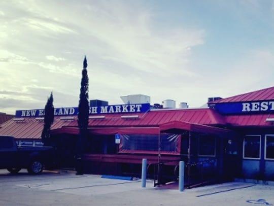 New England Fish Market and Restaurant in Jensen Beach.