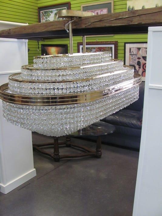 Leona Helmsley chandelier
