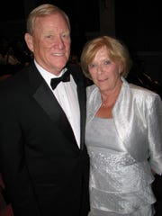 Indianapolis Colts President Bill Polian (left) said his wife, Eileen, was his best draft pick.