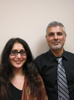 Mara and Aitezaz Ahmed both spent parts of their lives in Pakistan before they came to the U.S.