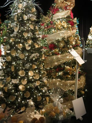 """The theme for this year's Festival of Trees beginning Nov. 18 at the Riverside Theatre will be """"Starry, Starry Night."""""""