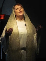 "Kim Johnson as Mary in ""His Last Days."""