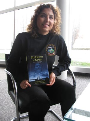 Anousheh Ansari, the first Muslim female space traveler (as well as the first female privately-funded spaceflight participant.