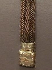 19th century bracelet on display at Cincinnati Art