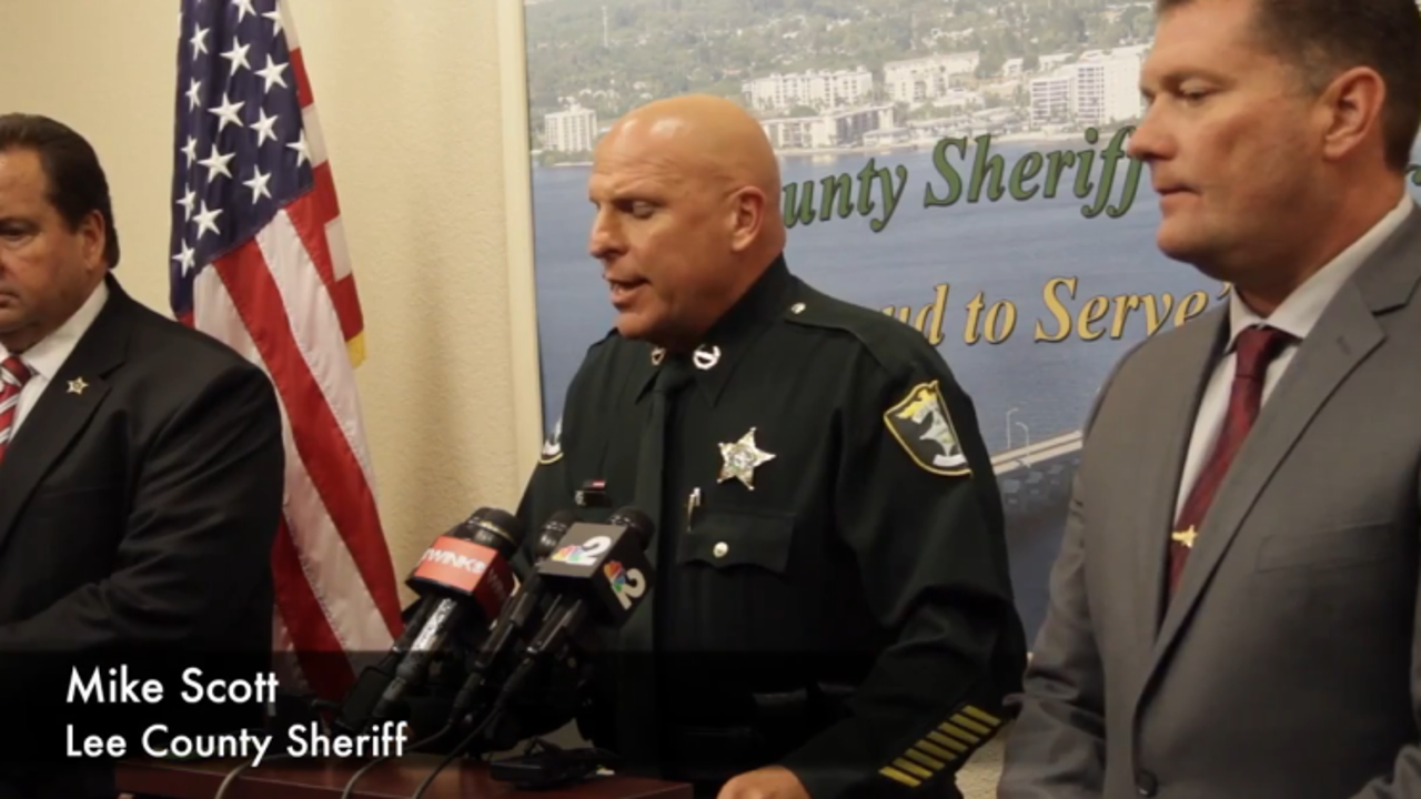 Sheriff Scott announces suspect in Sievers homicide case