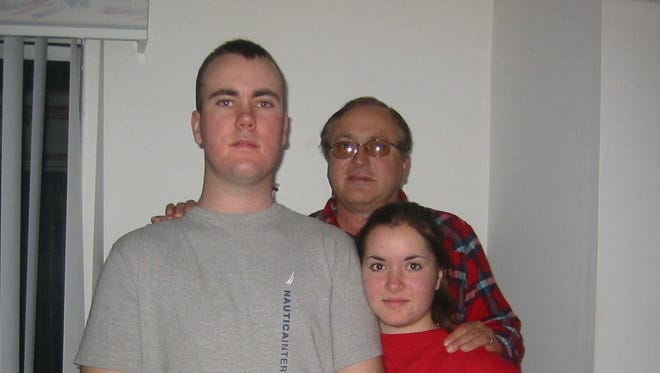 Cecil and Tonya Dressler with their son Shawn and their daughter Melissa.