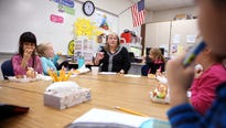 Robin Johnson and her students in Rockport have had a rough year.  But the teacher was also treated to happy news and was given a statewide award.