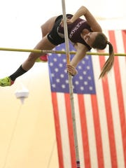 Nicole Lester of Ridgewood cleared 11 feet in pole vault to win gold at the Group 4 championships.