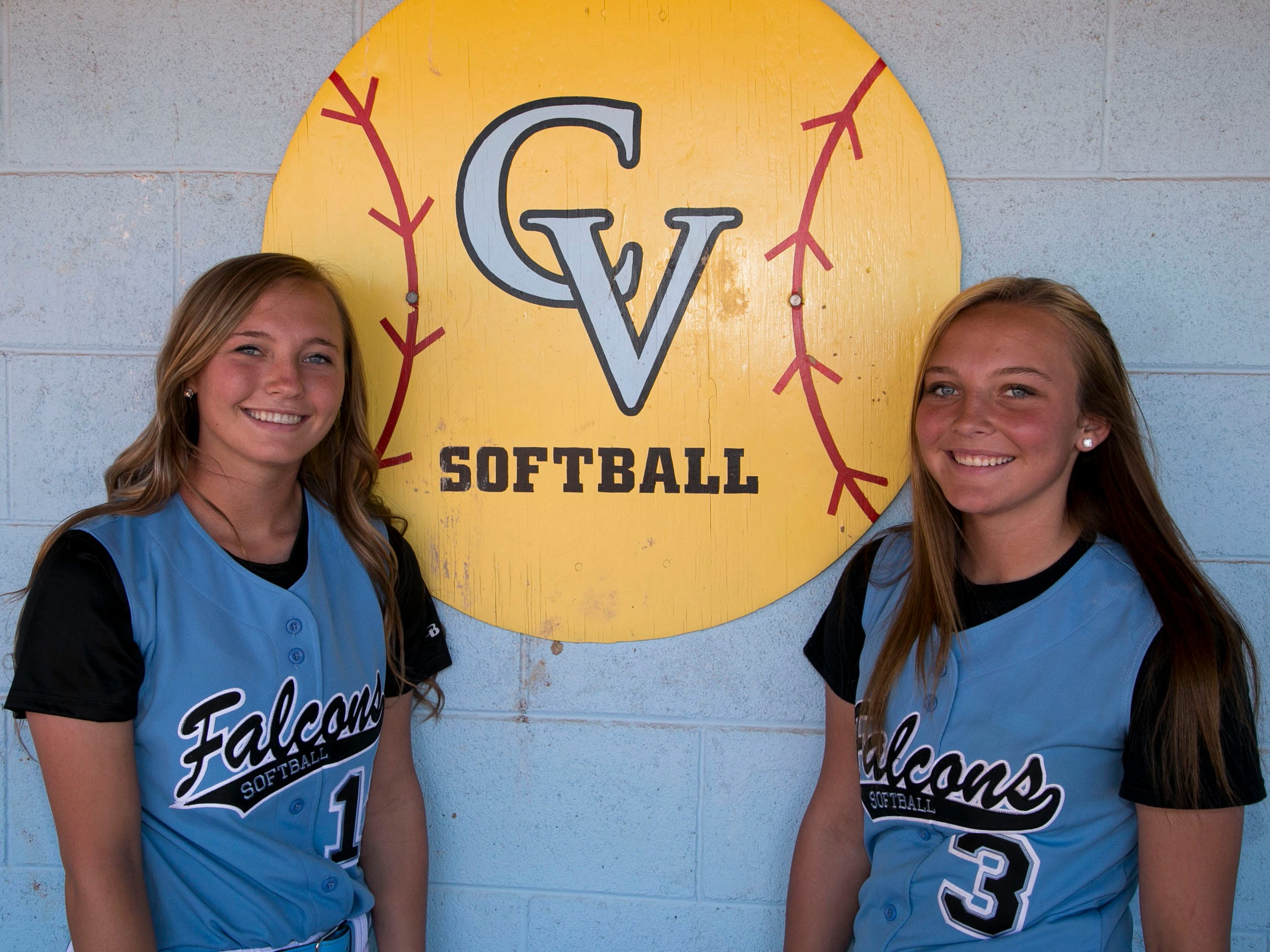 Canyon View's Shontae Clark and Shaycie Clark having been playing softball since they were eight years old and have been playing alongside each other ever since.