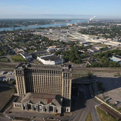 Did you know that the Michigan Central Station in Detroit contains 8 million bricks?