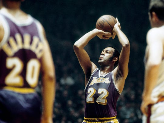 Elgin Baylor averaged 29.6 points in 1960-61, the Lakers' first season in Los Angeles.
