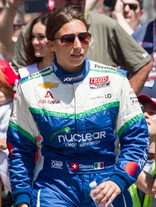 AP IndyCar Long Beach Auto Racing