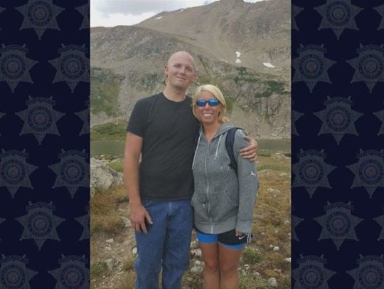 Photos of Adams County Deputy Heath Gumm shown during