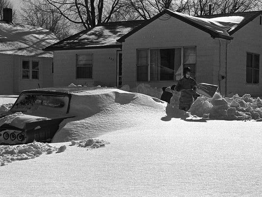 Record snowfall 1967