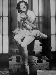 A photograph of Zelda Fitzgerald, which was taken in
