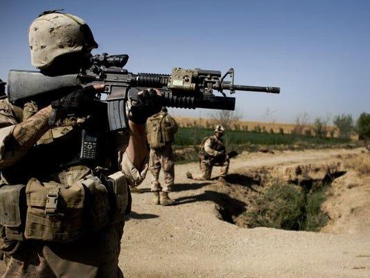 Military gun control