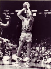 Vanderbilt's Scott Draud is one of the top 3-point shooters in SEC history.