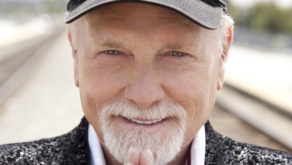 Mike Love, seen in one of the cover photos for his